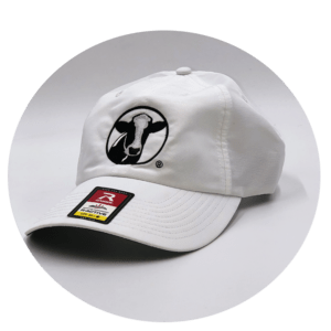 White Performance Hat