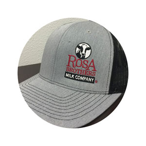 truckerhat black gray