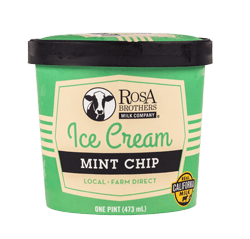Super Premium Mint Chip Ice Cream