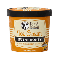 Super Premium Nut 'N Honey Ice Cream