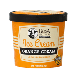 Super Premium Orange Cream Ice Cream