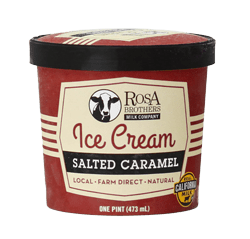 Super Premium Salted Caramel Ice Cream